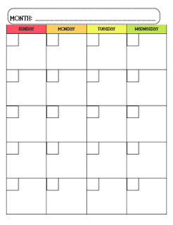 free-new-download-Free Calendar Template