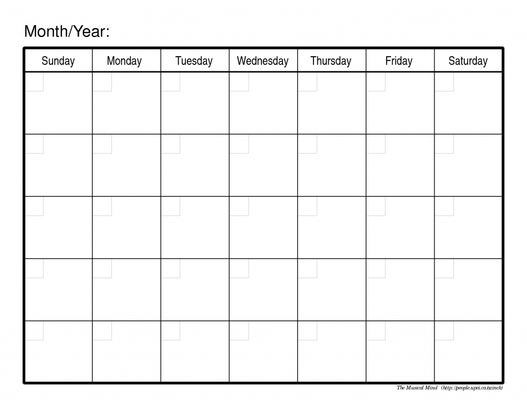 ... Printable Monthly Calendar | Search Results | 2016 Calendar Printable
