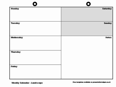 large-Weekly Calendar Templates-Download-free