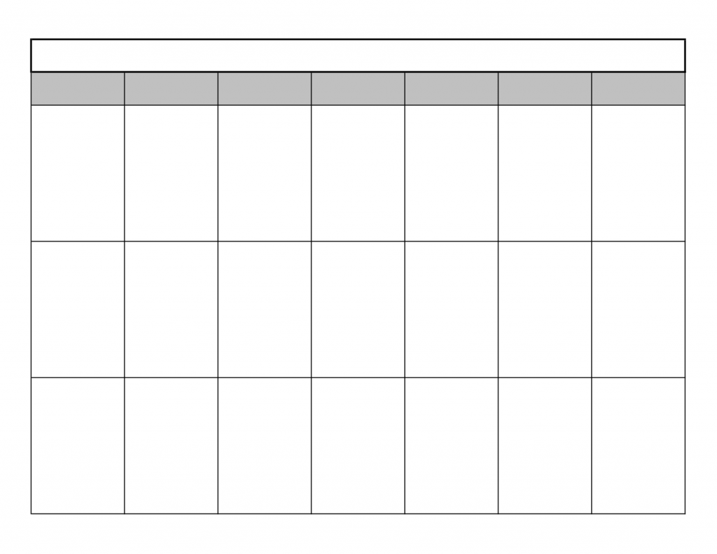 Free Printable Calendar For 2016 Monthly Calendar Template 2016 | 2017 ...