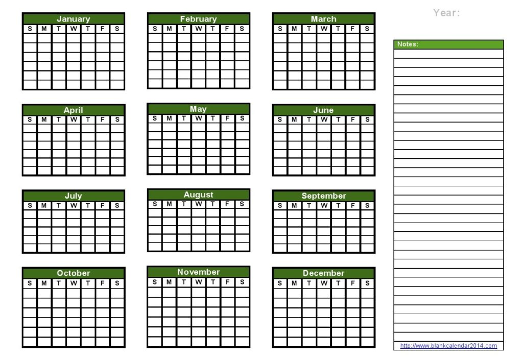blank-yearly-calendar-notes-landscape-DOC