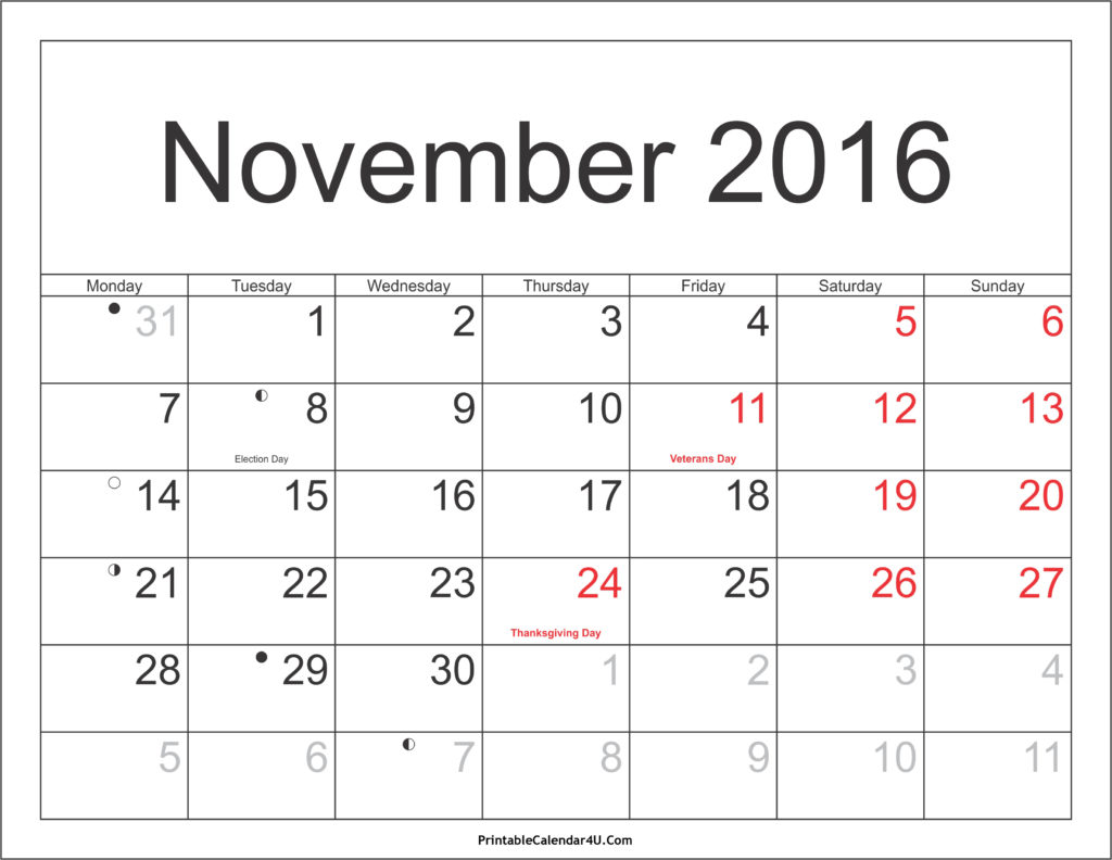 november-2016-calendar-with-holidays-printable-pdf-2016