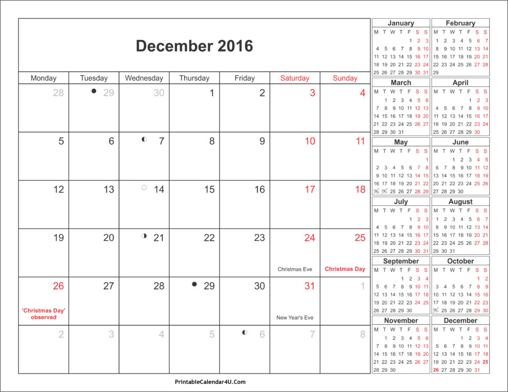 december-2016-calendar-with-holidays