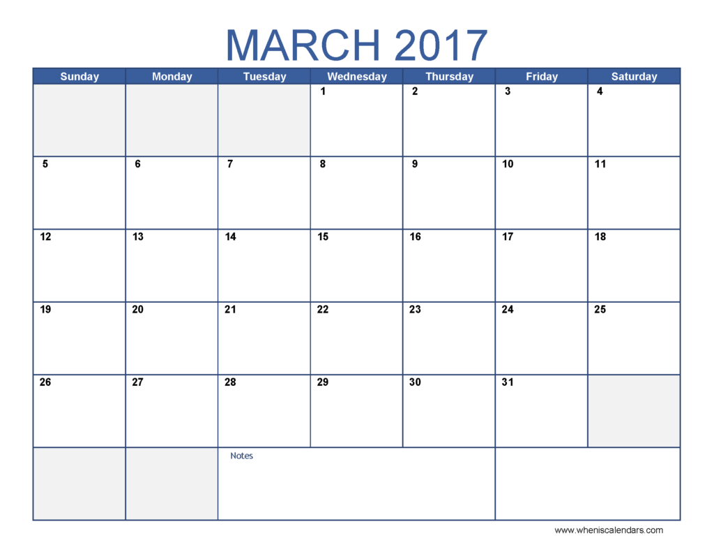 blank-march-2017-calendar-march-2017-template